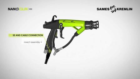 NANOGUN Airmix®混气手动静电喷枪