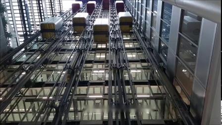 蒂森电梯双轿厢系统 @ St. Botolph building