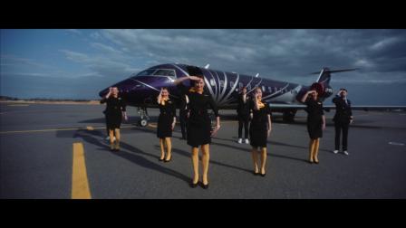 KlasJet航空换上舞鞋给欧洲歌唱大赛EuroVision立陶宛代表The Roop打call