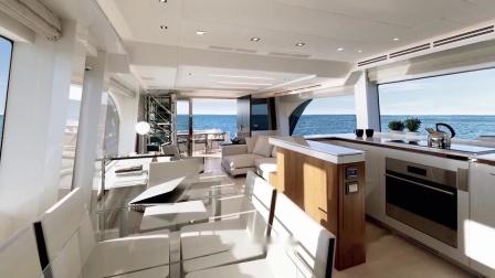蒙地卡罗游艇 - MCY 70天空走廊 - 主甲板区