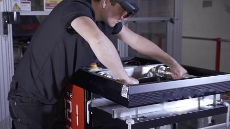瑞仕格AutoStore 维修平台采用AR增强现实技术