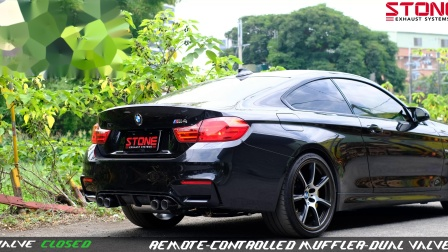 BMW F82 S55 M4 / Stone OEM Integrated Muffler Exhaust System
