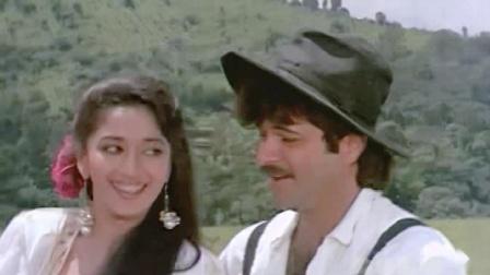 【舞神歌舞】宝莱坞90年代初电影《凯珊和甘海亚》 Madhuri Dixit 歌舞插曲 Kuchh Ho Gaya