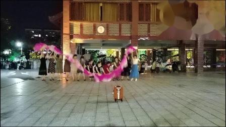 福寿之乡永福中洲公园~舞蹈排练