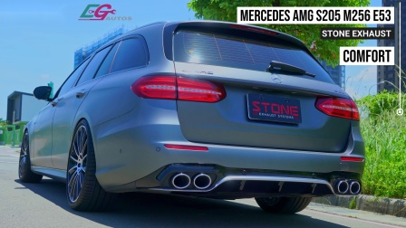 Mercedes AMG S213 M256 E53 / Stone Eddy Catted Downpipe