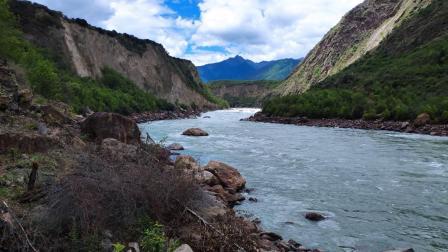 西藏雅鲁藏布江大峡谷鲁朗林海羊卓雍措风景MV