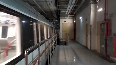 【广州地铁18号线】广州地铁22号线D2型电客车(22x007-008)冼村站上行进站