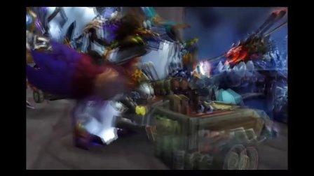 WOW 2011年最新屠杀四大主城白骨荒野嘉年华
