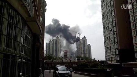 西安市雁塔区大寨路恒大城发生火灾!