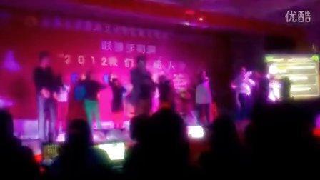 云南大学旅游文化学院旅游管理系迎新《江南style》