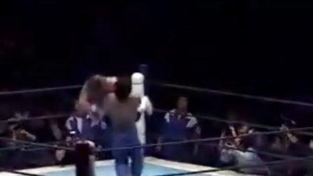 1992.10.18 新日本摔角 Great Muta VS  史考特 若頓(IWGP)
