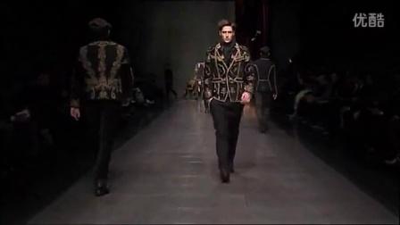 Dolce  Gabbana 2012秋冬系列男装秀
