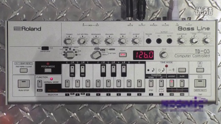 传奇Bass合成器TB 303