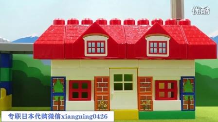 【日本代购】小猪佩奇 面包超人 做房子