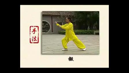 杨式太极拳一段基本形态(手型、步型、身型、手法、步法)
