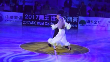 2017.3.25 米尔科&埃塔-台北WDC舞王世界杯摩登舞表演(另一视角)1080P