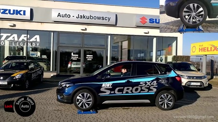 SX4 S-Cross 1.4T骁途吉姆尼店前四驱对比测试