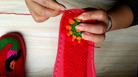 美人鱼拖鞋第一章...手工编织毛线拖拖蜂窝网鞋垫的编织方法。共三章