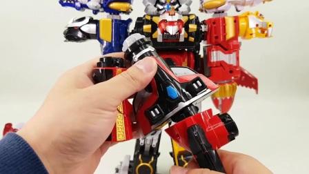 神兽变形 组合机器人 英雄变形金刚 男孩玩具 炫酷机器人 多阶段变形介绍 益智玩具 § 垣垣玩具 §