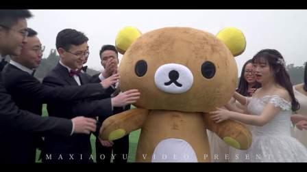 0106广安婚礼预告片 - 马小云video