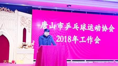 唐山市乒协总结表彰会(片段)