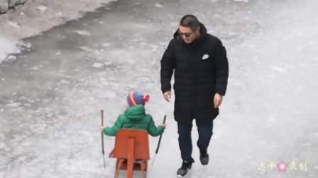 滦州古城滑冰