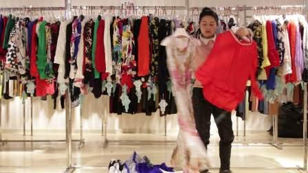 精品女装批发服装批发名哥品牌时尚春秋款女士小衫走份270件一份,不可挑款零售混批