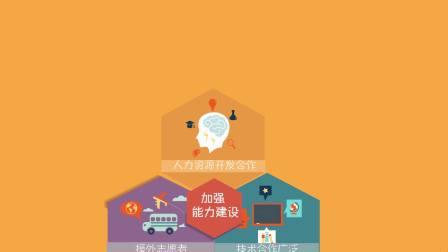 扁平动画风格-《数说中国援非这些年》数据新闻大赛参赛作品