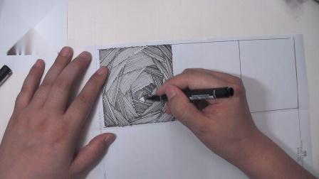 罗丹美术手绘_排线画法