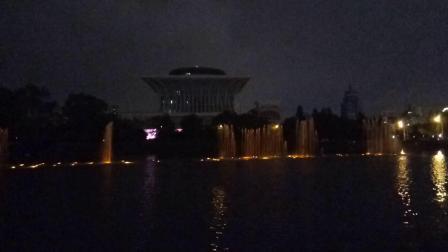 奥林匹克公园音乐喷泉_20180819