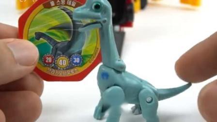 恐龙乐园 孵化小恐龙 汽车人公交巴士变形金刚总动员.avi