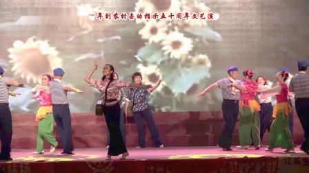 舞蹈《赤脚医生向阳花》表演 南京飞鹰艺术团(纪念知青上山下乡运动50周年演出)