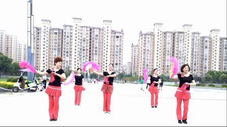百合~《凤舞》固镇老年大学学员习舞