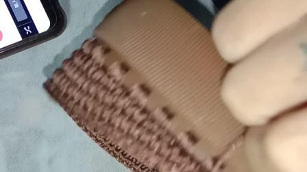 马丁靴 第一集(小码起针鞋头中间几个孔都要钩3针不要钩2针的)