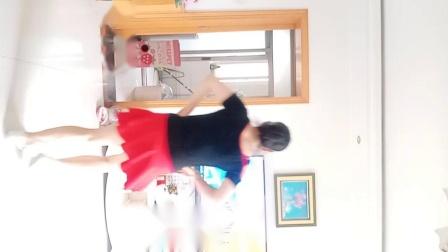 彩虹丹广场舞 玛尼情歌 混搭步子舞竖屏版背面