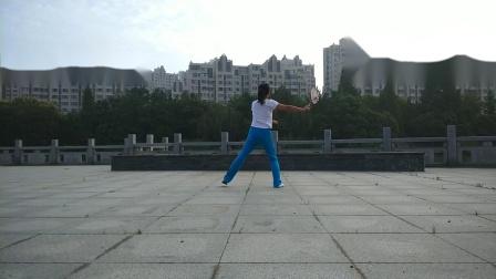 柔力球《赢未来》背面练习(会萍)