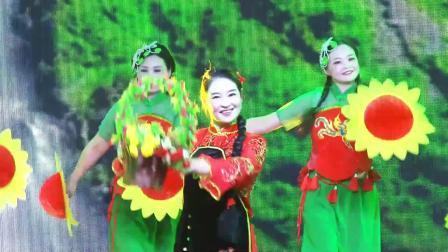 歌伴舞《南泥湾》领唱:徐芳  伴舞:红月亮舞蹈队(天门新城国庆70周年文艺晚会)