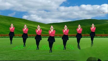 变形抠像舞蹈《情花朵朵开》演示:青青