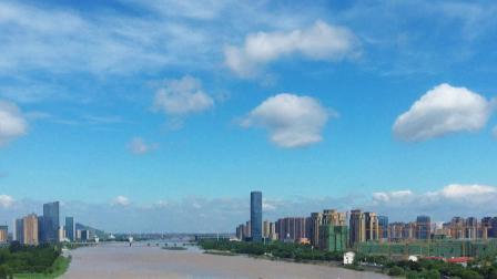 上虞 曹娥江边的城市