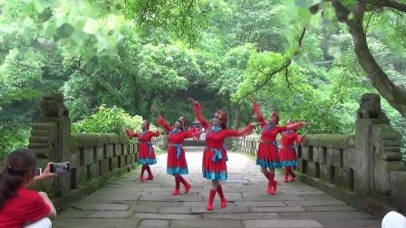 爱家乡 爱东溪  东溪古镇太平桥景区 太极拳 舞蹈表演。