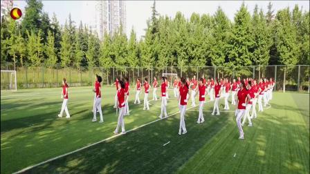 第十八套齐之韵快乐舞步健身操   第八节   摆跨运动(别知己)