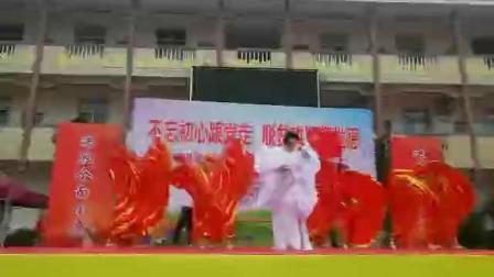 《我和我的祖国》演唱李佳蔓,伴舞太太乐旗袍舞蹈队