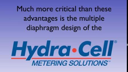 Hydra-Cell® WANNER高精度超越API675无脉动计量泵,万纳尔泵四十多年的技术发展及案例使用