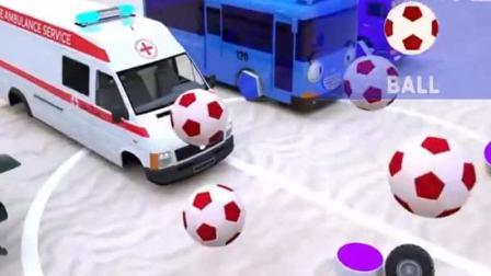 汽车玩具:小汽车们的轮胎每个车胎都不一样.avi