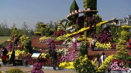 山水名城生态都市—南昌市第三十二届菊花展