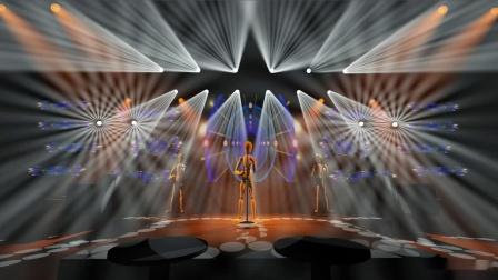 演绎酒吧3D灯光设计 演绎酒吧开场灯光秀 酒吧灯光工程设计