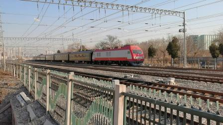 20201221_135502 沈局辽段SS9-0107牵引T39次(北京-齐齐哈尔)柳村线路所1道通过
