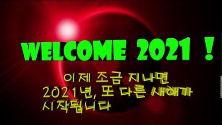 送走2020年 迎接2021年(韩国 황수열)