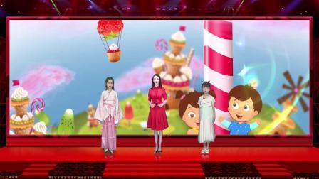 vMix专用虚拟集演播室场景发布会舞台表演喜庆节日春节主持人拜年