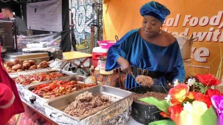 【街邊小吃】非洲有屬於自己國家特有的食物 感受一下非洲人的日常風俗美食